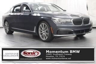 New 2019 BMW 740i Sedan in Houston