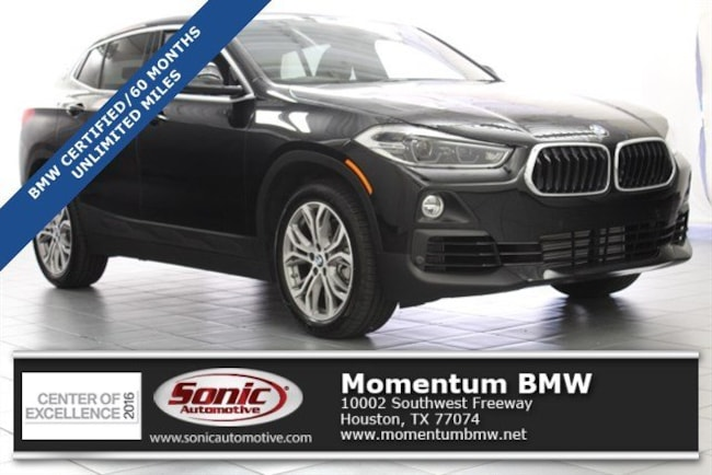 Certified Used 2018 BMW X2 sDrive28i Sports Activity Coupe in Houston