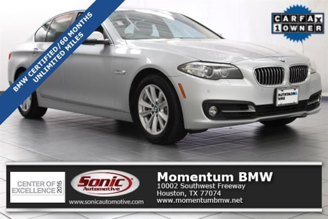 Certified Used 2016 BMW 528i 528i Sedan in Houston