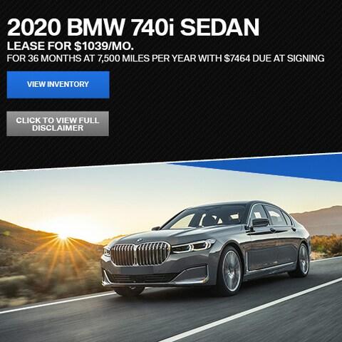 2020 BMW 740i