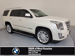 Used 2015 CADILLAC Escalade Platinum SUV TFR664339 for sale near Houston