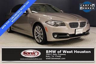 Certified 2016 BMW 535i Sedan TGG131539 in Houston