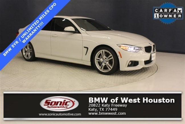 Certified 2016 BMW 428i Gran Coupe in Houston