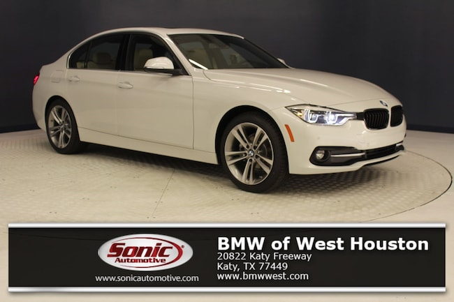 New 2018 BMW 328d Sedan in Houston