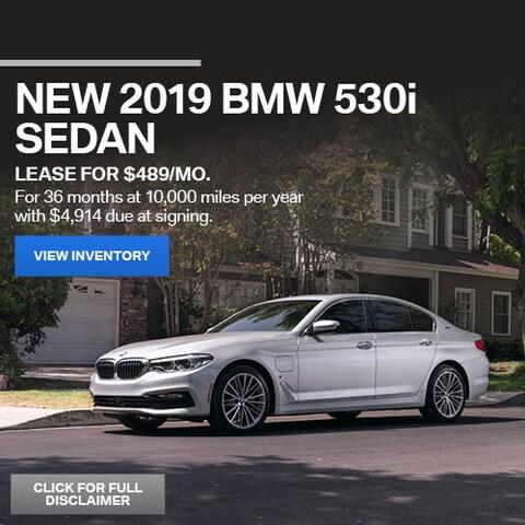 June New 2019 BMW 530i Sedan