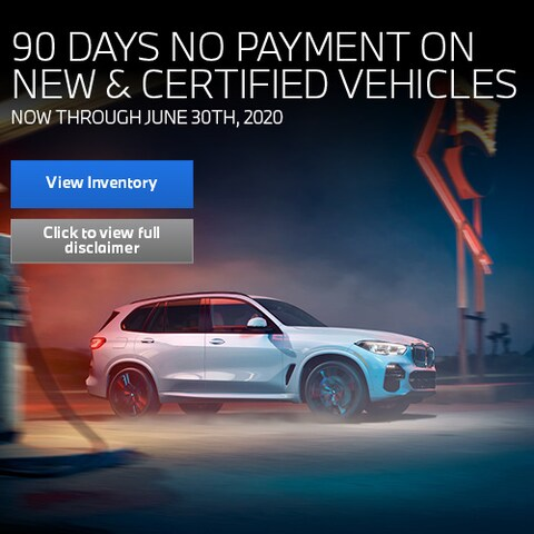 90 Days No Payment on New & Certified Vehicles