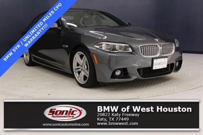 Certified 2016 BMW 550i Sedan in Houston