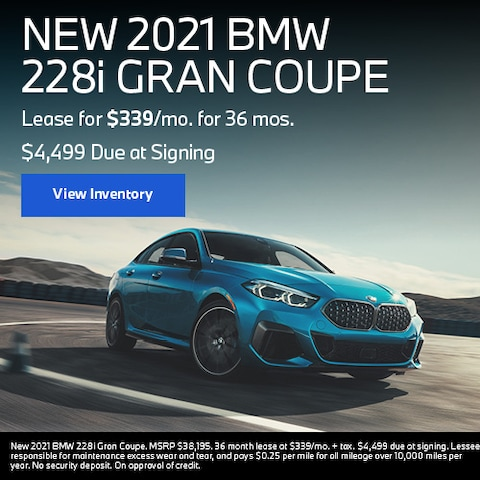 NEW 2021 BMW 228i GRAN COUPE