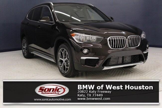 New 2019 BMW X1 sDrive28i SUV in Houston