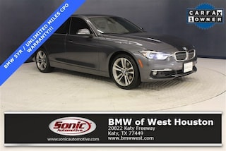 Used 2016 BMW 328i Sedan LGNT85504 for sale near Houston