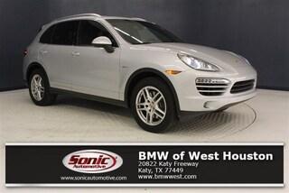 Used 2013 Porsche Cayenne Diesel SUV for sale in Houston