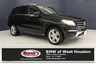Used 2013 Mercedes-Benz M-Class ML 350 4matic 4dr SUV TDA243528 for sale near Houston