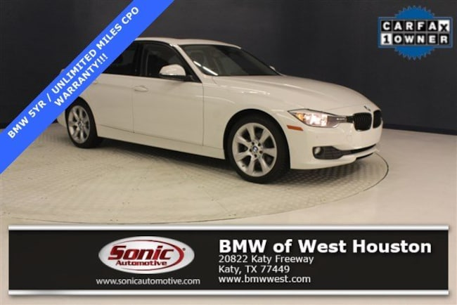 Used 2015 BMW 320i Sedan in Houston