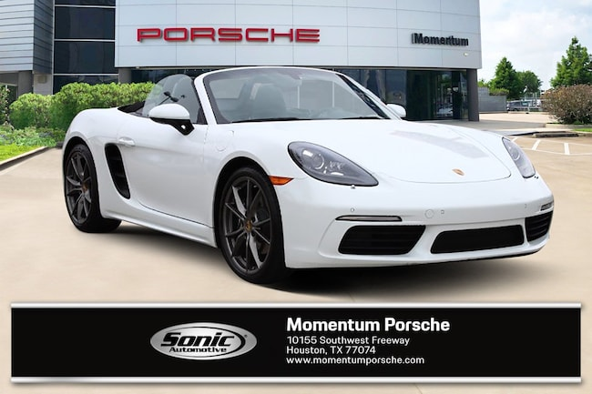 New 2018 Porsche 718 Boxster Cabriolet for sale in Houston, TX