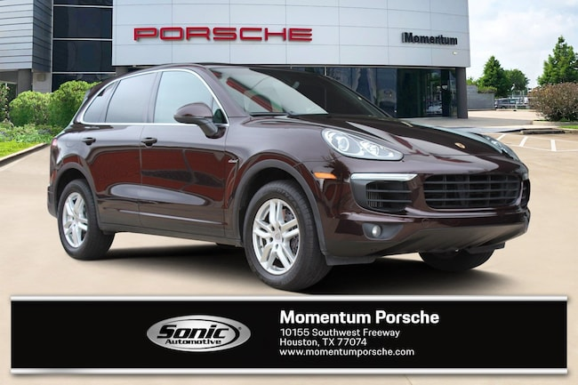 Certified Pre-Owned 2016 Porsche Cayenne Diesel AWD 4dr SUV for sale in Houston, TX