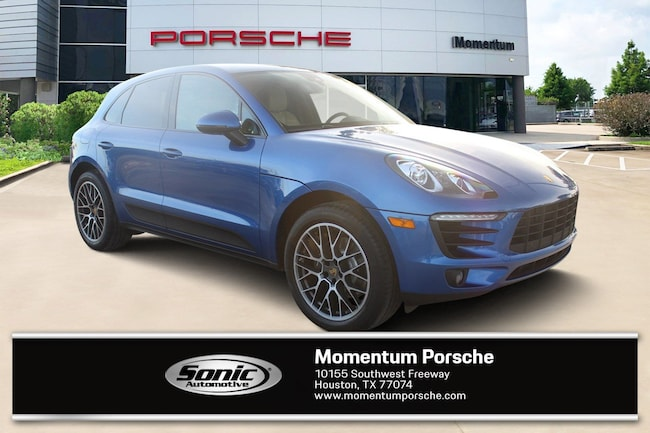 New 2018 Porsche Macan Sport Edition SUV for sale in Houston, TX