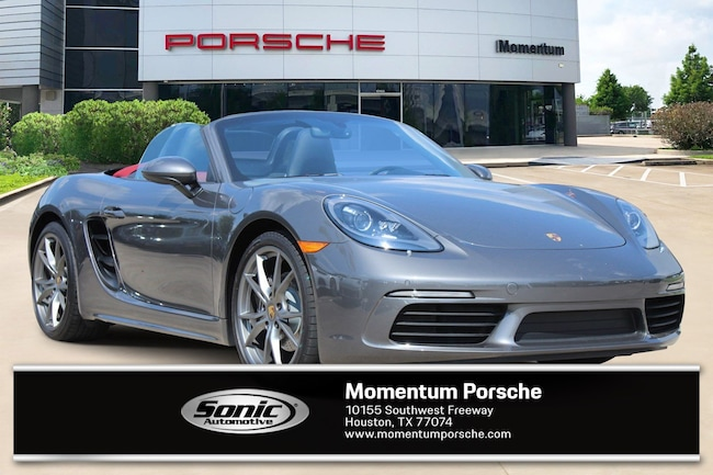 Certified Pre-Owned 2018 Porsche 718 Boxster Roadster Convertible for sale in Houston, TX