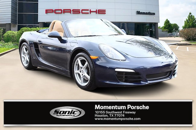 Certified Pre-Owned 2015 Porsche Boxster 2dr Roadster Cabriolet for sale in Houston, TX