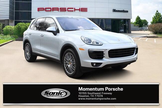 New 2018 Porsche Cayenne S SUV for sale in Houston, TX