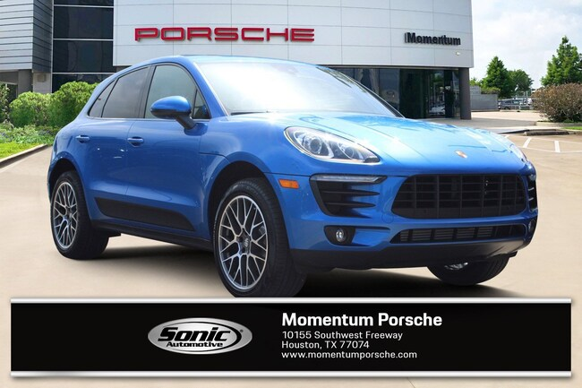 New 2018 Porsche Macan SUV for sale in Houston, TX