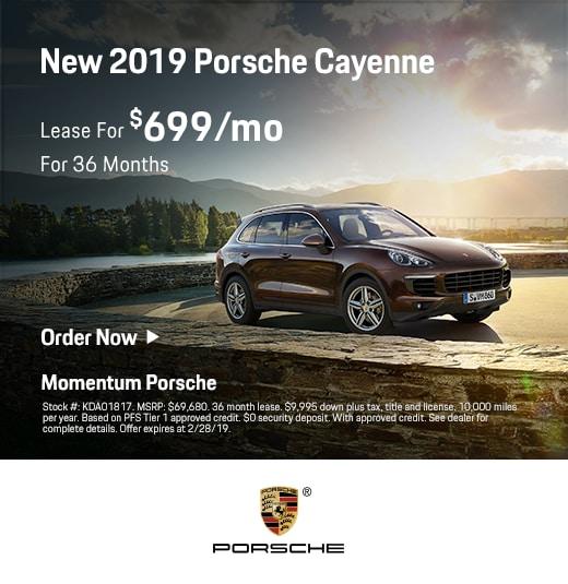 2018 Porsche Macan Service Loaner