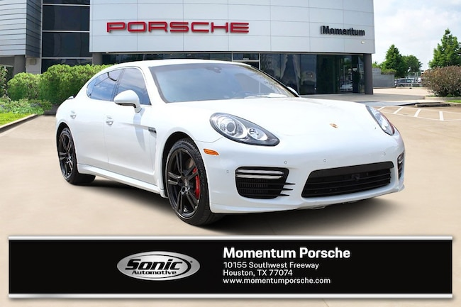 Certified Pre-Owned 2014 Porsche Panamera Turbo S Executive 4dr HB Gran Turismo for sale in Houston, TX
