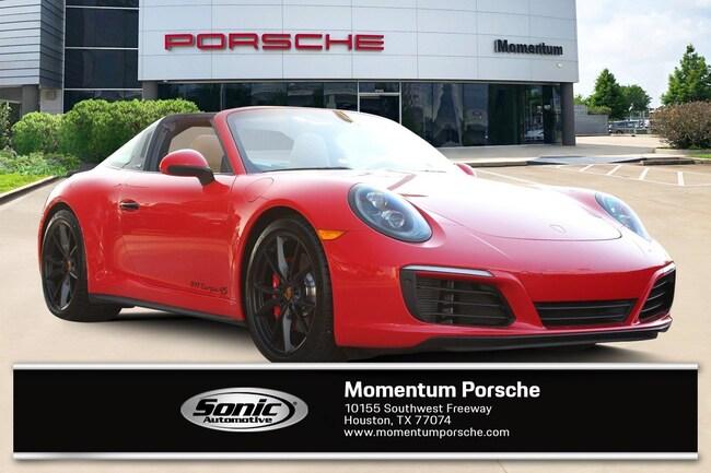 New 2019 Porsche 911 Targa 4S Coupe for sale in Houston, TX