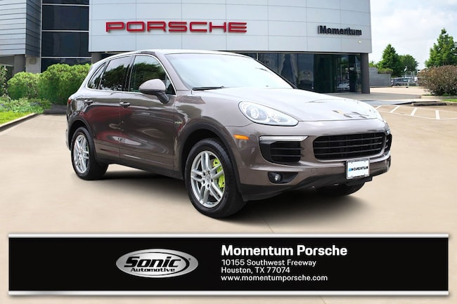 Certified Pre-Owned 2016 Porsche Cayenne S E-Hybrid AWD 4dr SUV for sale in Houston, TX