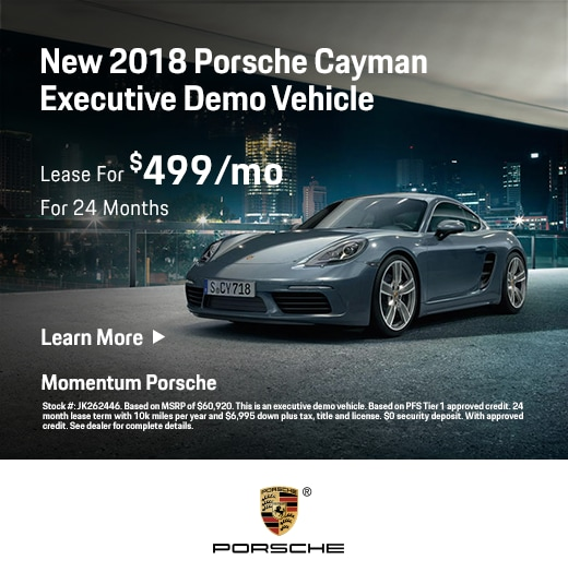 Porsche Lease Deals & Specials