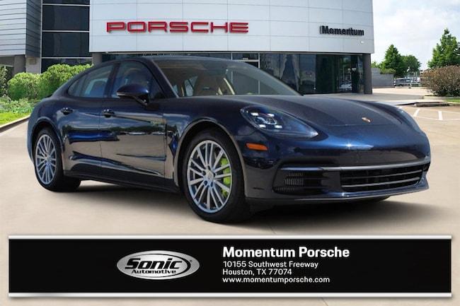 New 2018 Porsche Panamera E-Hybrid 4 Sedan for sale in Houston, TX