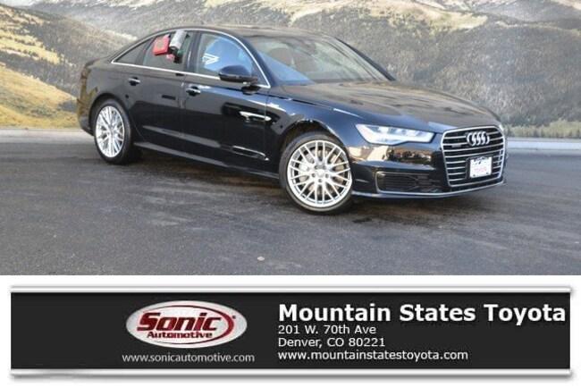 Used 2016 Audi A6 3.0T Premium Plus Sedan in Denver