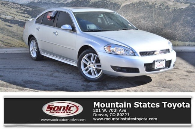 Used 2012 Chevrolet Impala LTZ Sedan in Denver