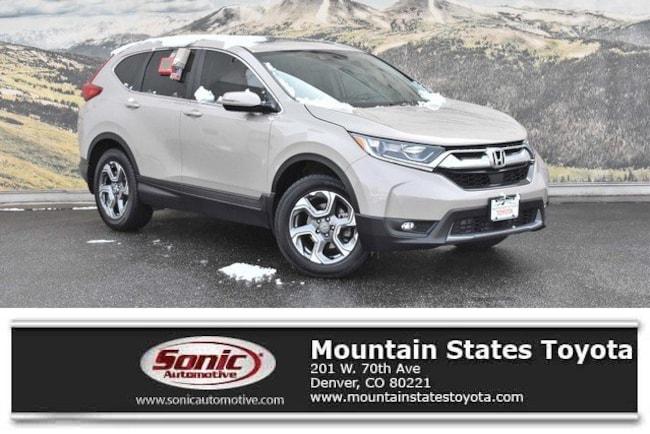 Used 2017 Honda Cr V Ex L Navi Awd For Sale In Denver Co Stock