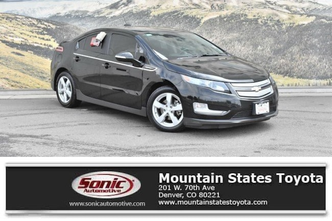Used 2015 Chevrolet Volt Base Hatchback in Denver