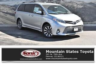New 2019 Toyota Sienna Limited Premium 7 Passenger Van in Denver