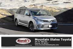 New 2019 Toyota Sienna Limited 7 Passenger Van in Denver