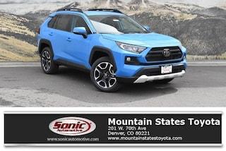 New 2019 Toyota RAV4 Adventure SUV in Denver