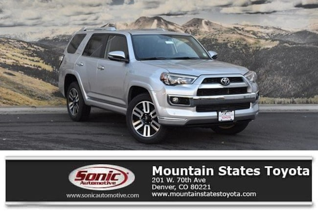 New 2019 Toyota 4Runner Limited SUV in Denver