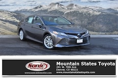New 2019 Toyota Camry Hybrid LE Sedan in Denver