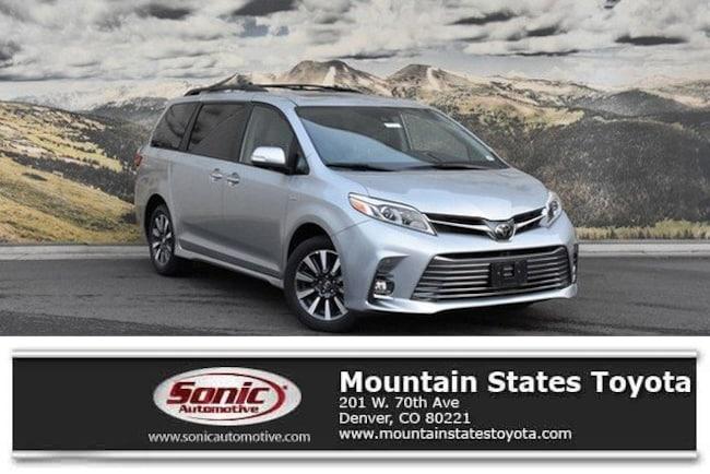 New 2019 Toyota Sienna XLE 7 Passenger Van in Denver