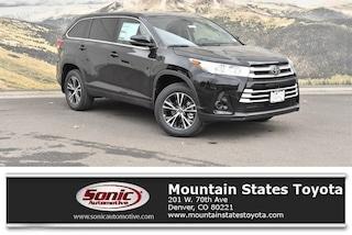 New 2019 Toyota Highlander LE V6 SUV in Denver