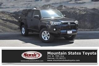 New 2019 Toyota 4Runner SR5 SUV in Denver