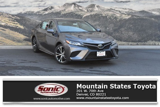 New 2019 Toyota Camry SE Sedan in Denver