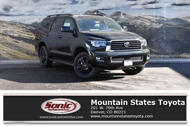 New 2019 Toyota Sequoia TRD Sport SUV in Denver