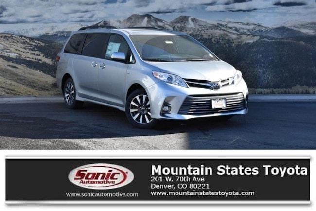 New 2019 Toyota Sienna XLE Premium 7 Passenger Van in Denver