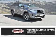 New 2019 Toyota Highlander LE Plus V6 SUV for sale in Denver