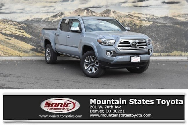 New 2019 Toyota Tacoma Limited V6 Truck Double Cab in Denver