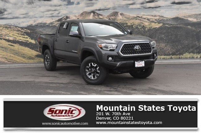 New 2019 Toyota Tacoma TRD Off Road V6 Truck Double Cab in Denver