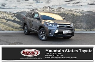 New 2019 Toyota Highlander Hybrid Limited Platinum V6 SUV in Denver