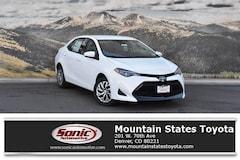 New 2019 Toyota Corolla LE Sedan in Denver